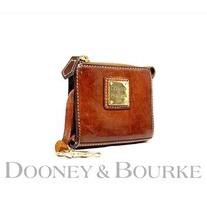 DOONEY & BOURKE-Vtg Florentine Leather smallwallet